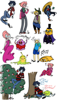 Adventure Time Sketch Dump 2 by Squidbiscuit