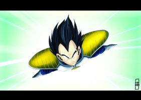 Prince of all Saiyans by Hawk4
