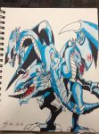 Blue Eyes Ultimate Dragon by ThunderStruck17