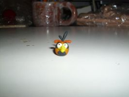 Angry Birds Orange Bird Prototype by DreamCrafters