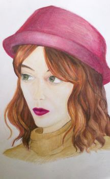 Florence Welch -Portrait by Fucchan94