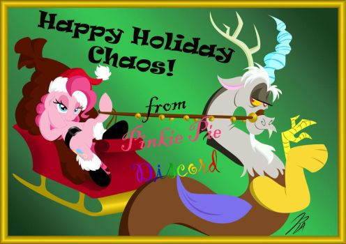 Holiday Chaos DiscoPie by Rannva