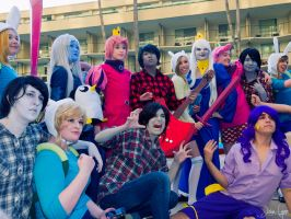 Adventure Time Group 1 by SNTP