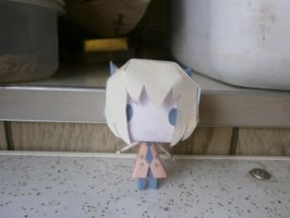 Usee papercraft by sabrynaM