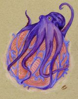 Table tent octopus by Creative-Caro