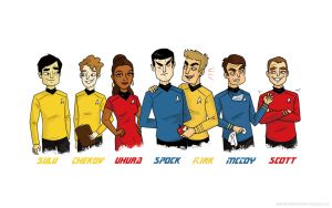 Trek Crew Wallpaper by TRAVALE