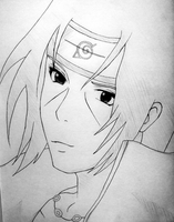 Itachi by EmeraldWolfStar