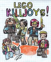 lego KILLJOYS by dragon-flies