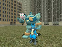 Gmod pokeumans by LRpaul