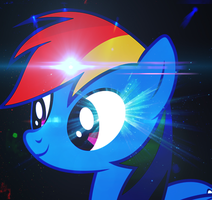 Rainbow Dash Icon by DigiRadiance