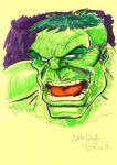 DTWT HULK by mikecollins