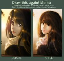 Before and After Meme by chaosringen