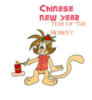 The year of the monkey! by Aso-Designer