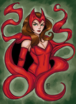 Scarlet Witch Colors by GwenCanDrawZat