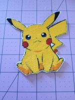Pikachu Patch and Custom Orders Available~ by SirenOaklee