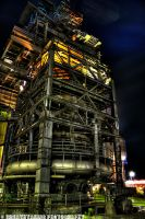 Steel and Lights I HDR by xMAXIx