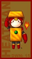 DWN 15 - Heatman by roseannepage