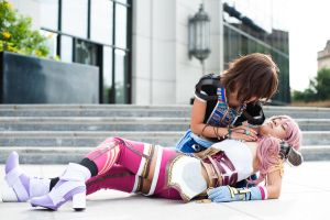 Noel and Serah -SPOILER ALERT- by RichardAlexander