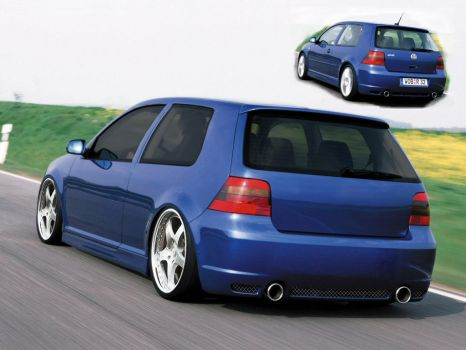 Volkswagen Golf by IA-Jonny
