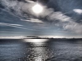 Greenland's sun, sky and sea by bellaricca