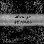 Strangebrushes PSP by BlaclyStuff