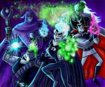 Danny Phantom Ghosts by zorm
