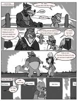 Comic commission: A Normal Day at K-9 Agency 4 by CaseyLJones