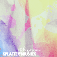 Splatter Brush Set by ofthespectrum