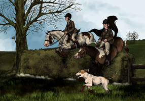 The Gibsonvale Hunt by sobreiros