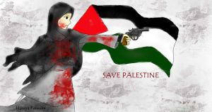 Save Palestine by Khaireen