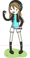 :Com: Alex in Adventure Time Style by CrisUchiha