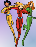 Totally Spies - Collaboration by latsy