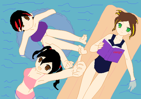 Base: Pool Party by Shadowchan14
