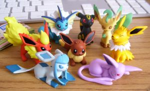 Eevee Family by Fishlover