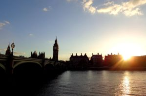 London, May 2013, Houses of Parliament II by MorgainePendragon