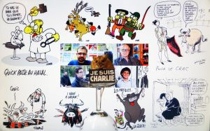 Madame Mulote Je suis Charlie by eco6org