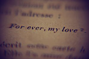For ever my love by loLO-o