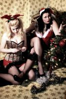 Emma and Willow - Santa Baby 5 by Glamour-and-Abuse