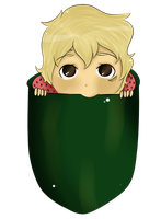 Watermelon Baby: Toumoro by EtherealApricity