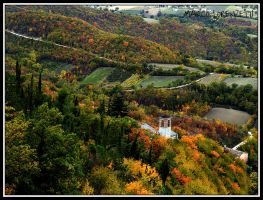VALLEMONTAGNANA DI FABRIANO (AN)-THE FALL'S MAGIC by MarcoLorenzetti