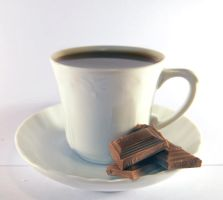 chocolate coffee cup. by magnesina-stock