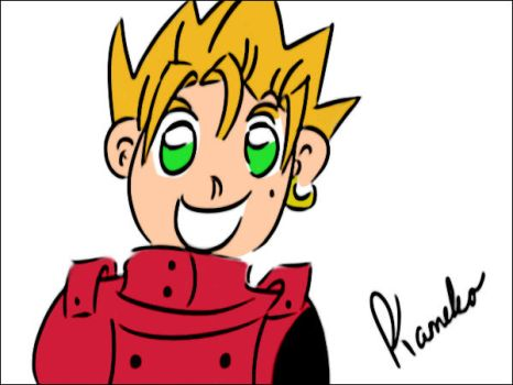 Sketchy Vash by Celesma