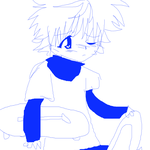 awesome and cute killua by pawonbelly
