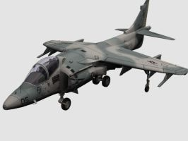 Harrier Jet 2 by Jorgeg3D