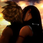 Cloud  x Tifa by Evil-Blade