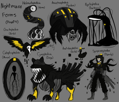 Nightmare Forms by Wolf-con-f