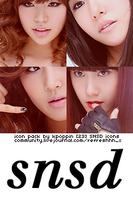 23 SNSD Icons by ohmyjongwoon