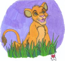 Simba by Cobalt-Flame