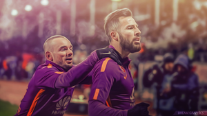 Yasin ve Sneijder Effect Work by dreamgraphicss