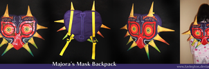 Majora's Mask backpack by tavington